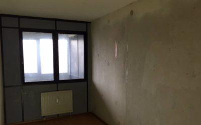 FØR maling af lejlighed